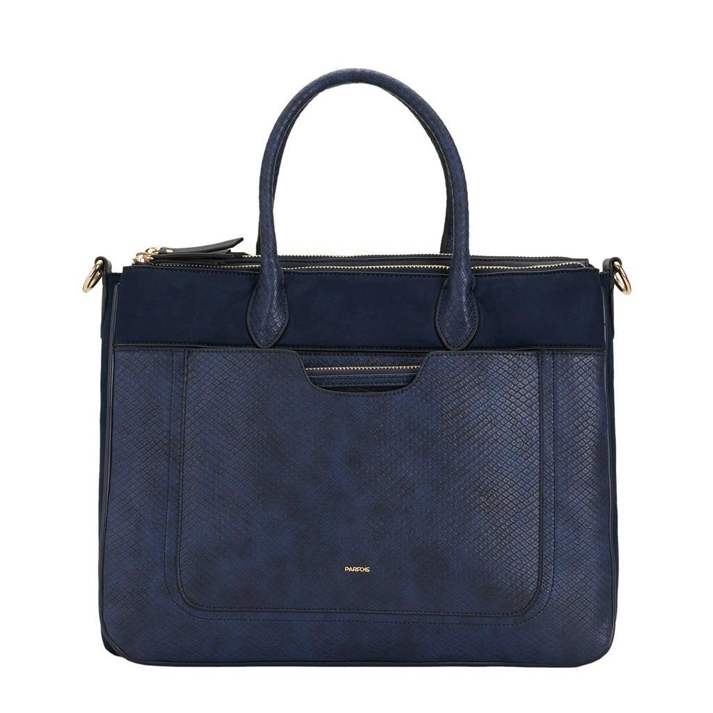 Parfois   tas briefcase marine, Blauw