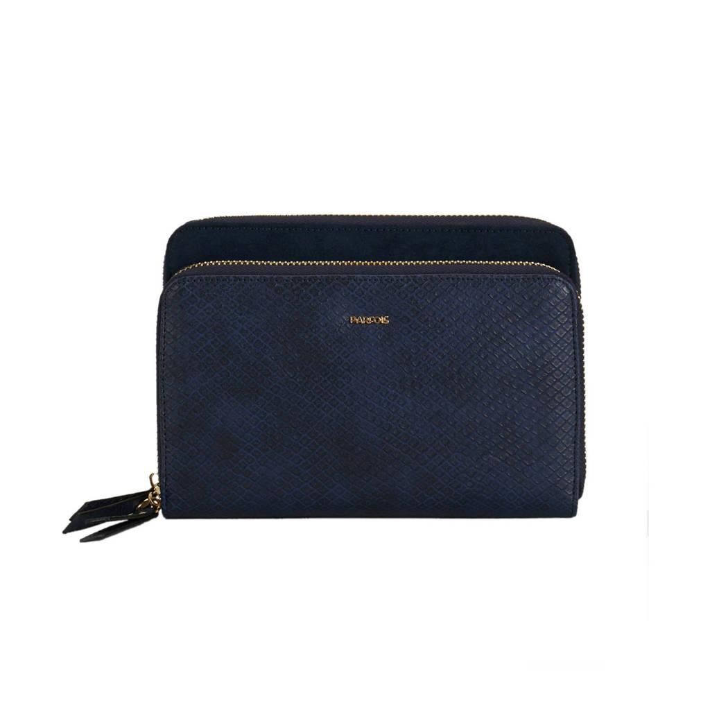 Parfois portemonnee blauw, Blauw