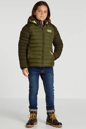 winterjas Twan army groen