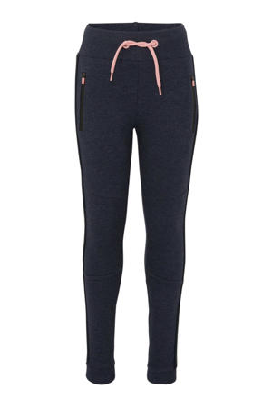 regular fit broek marine/roze