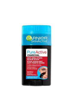 Skinactive Pure Active Charcoal Scrub Stick - Anti Mee-Eters