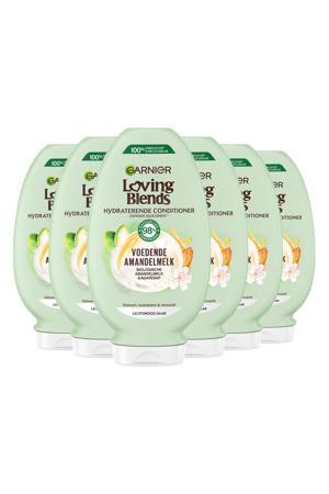 Loving Blends Voedende Amandelmelk conditioner - 6x 250ml multiverpakking