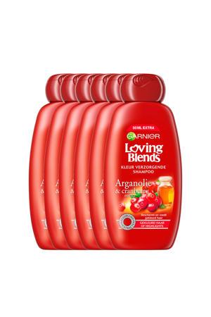 Arganolie en Cranberry shampoo - 6x 300ml multiverpakking