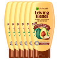 Garnier Loving Blends Avocado Olie & Karit Conditioner - 6x 250ml multiverpakking