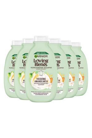 Loving Blends Voedende amandelmelk shampoo - 6x 300ml multiverpakking