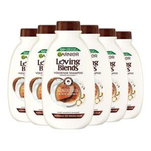 Kokosmelk en Macadamia shampoo - 6x 300ml multiverpakking