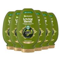 Garnier Loving Blends Mythische olijfolie conditioner - 6x 250ml multiverpakking