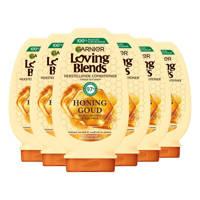 Garnier Loving Blends Honing Goud conditioner - 6x 250ml multiverpakking