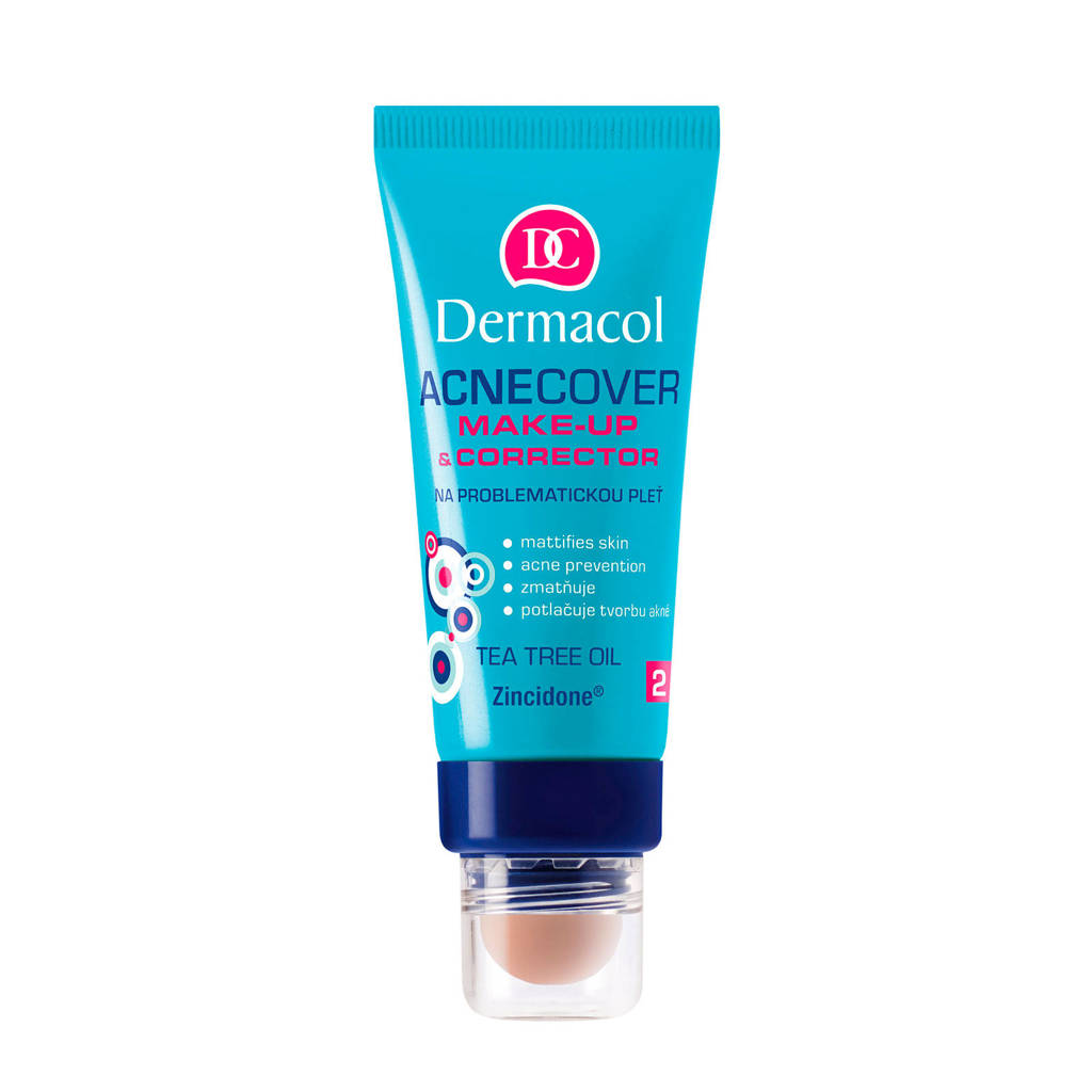 Dermacol Acnecover make-up and corrector foundation- 2, 02