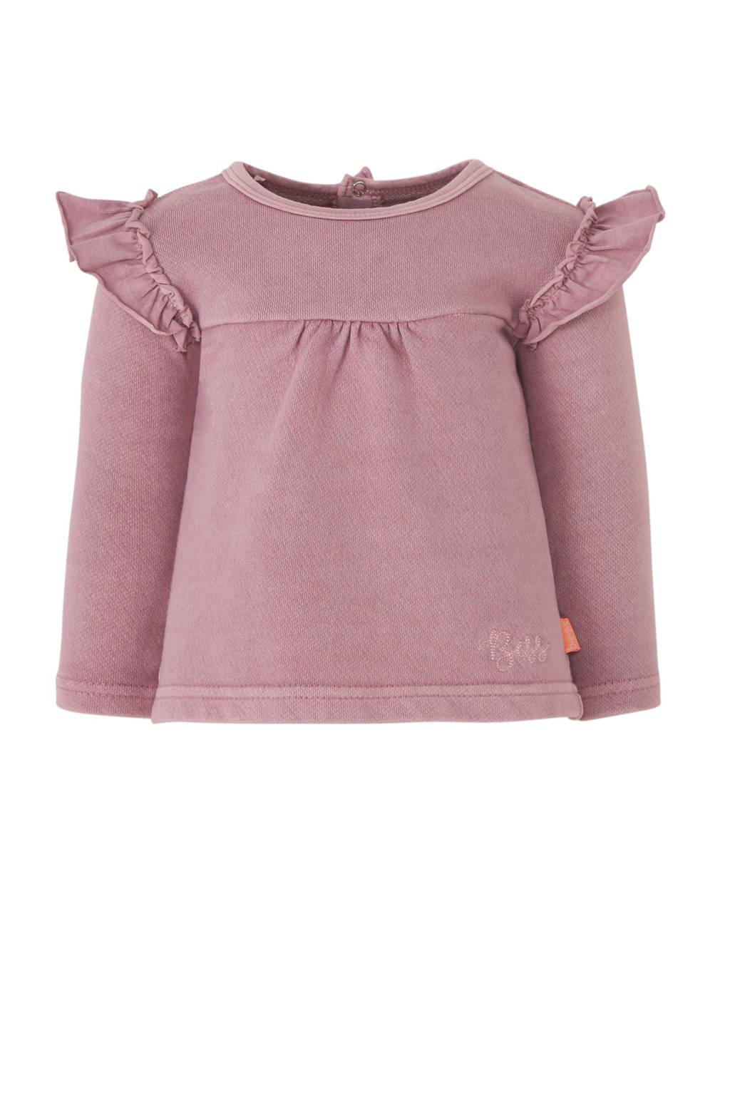B.E.S.S baby longsleeve roze, Roze