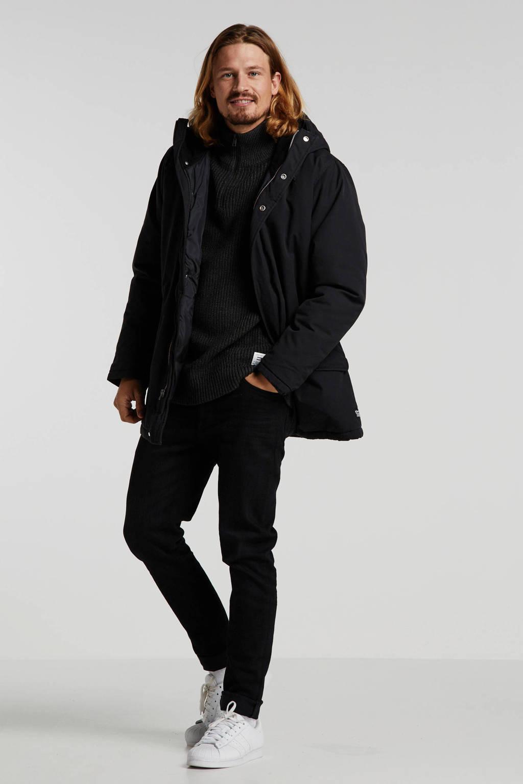 Levi's parka zwart, Zwart