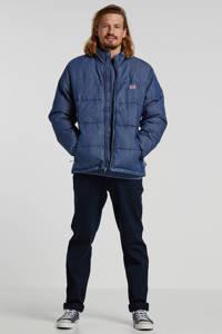 Levi's winterjas Coit Down Puffer met logo blauw, Blauw