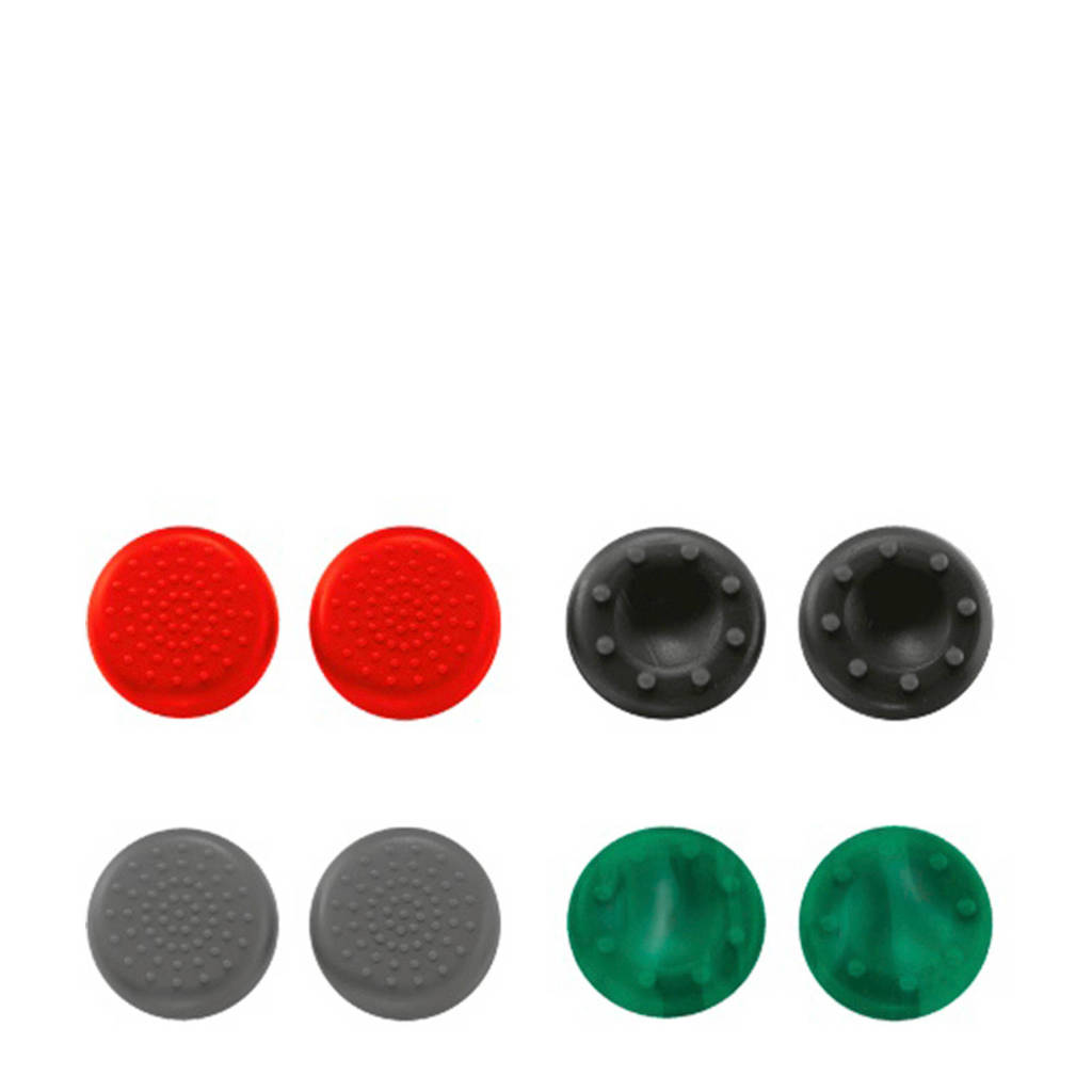 Trust GXT 264 Thumb Grips  8-pack voor Xbox One, Rood