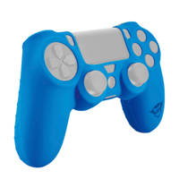 Trust GXT 744B rubber skin blauw, Blauw