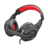 Trust  GXT 307 Ravu gaming headset zwart, Zwart, Rood