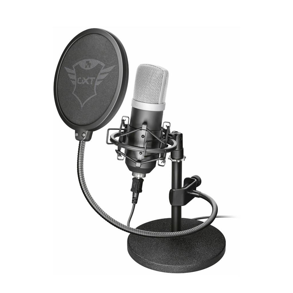 Trust  GXT 252 Emita streaming microfoon, Zwart
