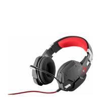 Trust  GXT 322 Carus gaming headset zwart, Zwart, Rood