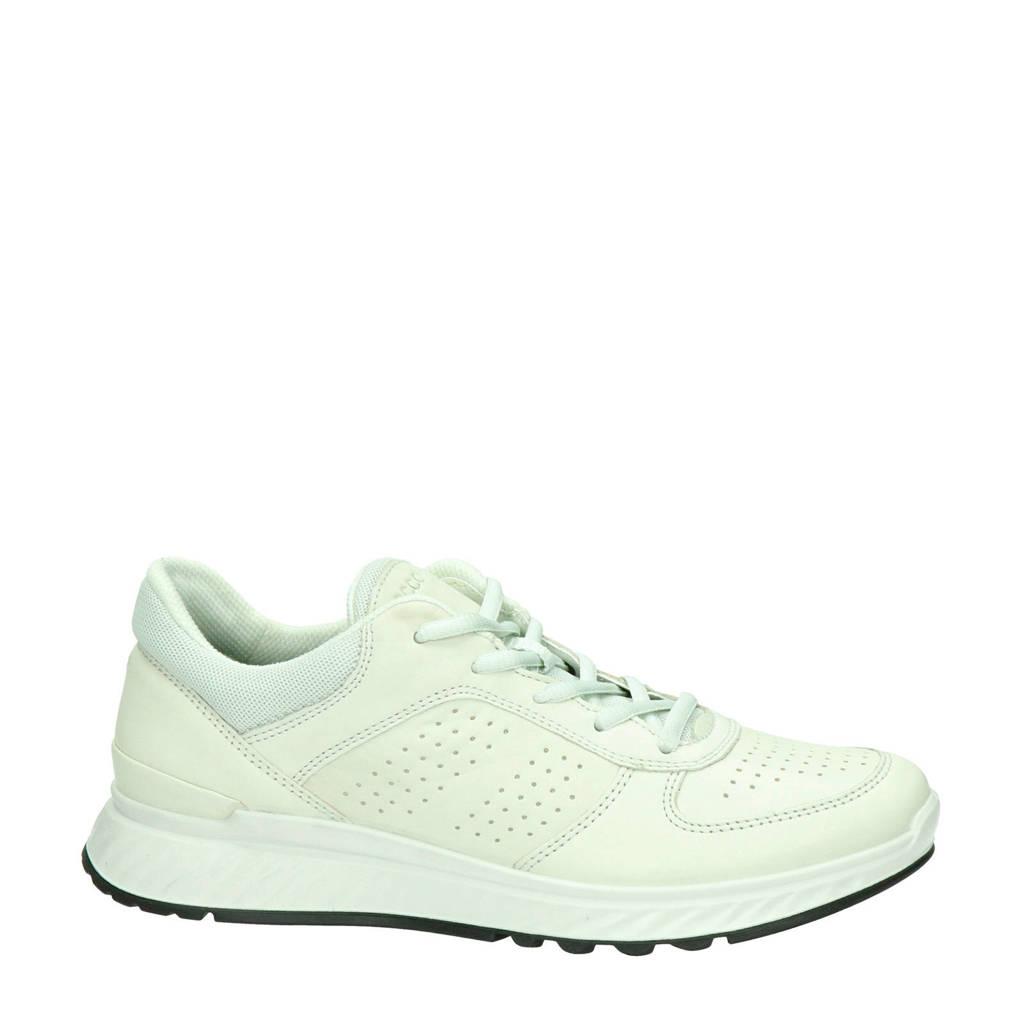 Ecco Exostride comfort leren sneakers off white, Off White
