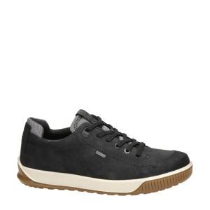 Byway nubuck sneakers zwart