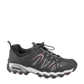 wandelschoenen grijs/roze