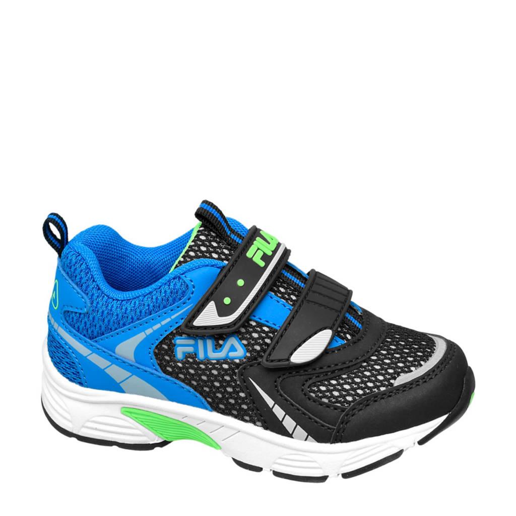 Fila   sneakers blauw/zwart, Zwart/blauw/groen