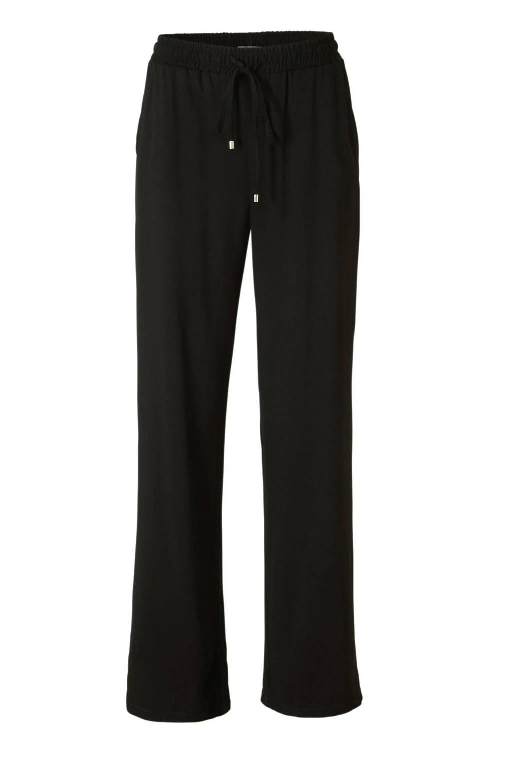 C&A Yessica loose fit broek zwart, Zwart