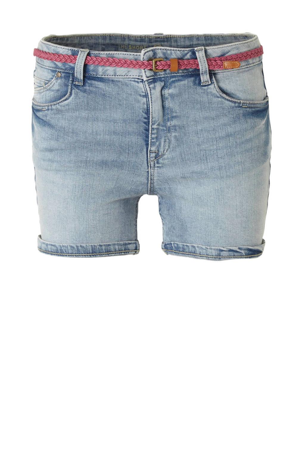 C&A The Denim slim fit jeans short, Light denim