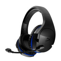 HyperX  gaming headset Cloud Stinger Wireless PS4, Zwart, Blauw