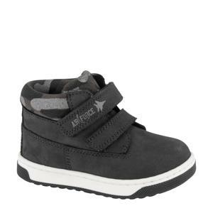 hoge sneakers zwart/grijs