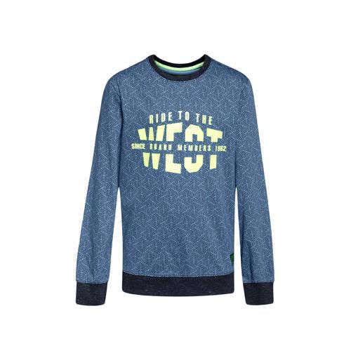 WE Fashion sweater blauw