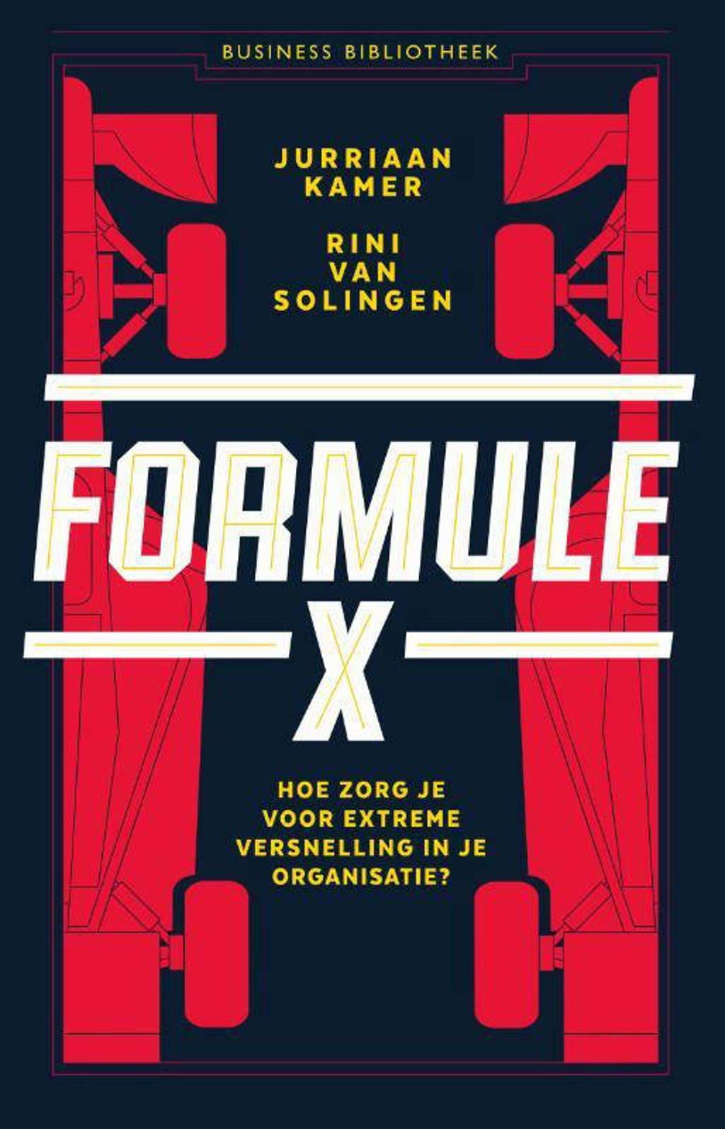 Formule X - Jurriaan Kamer en Rini van Solingen