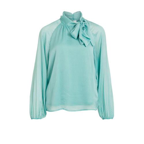 VILA blouse turquoise