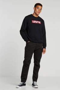 Levi's sweater met logo zwart, Zwart