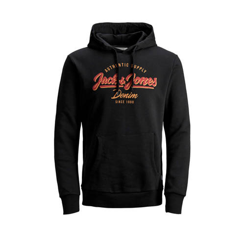JACK & JONES ESSENTIALS hoodie met tekstopdruk