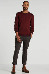 SELECTED HOMME trui donkerrood, Donkerrood