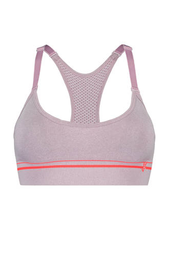 Yoga and pilates collection HKMX sportbh The Crop Level 1 lila