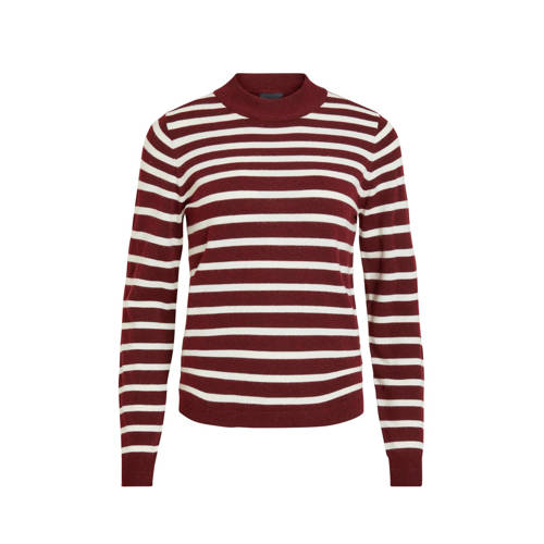 OBJECT gestreepte trui rood