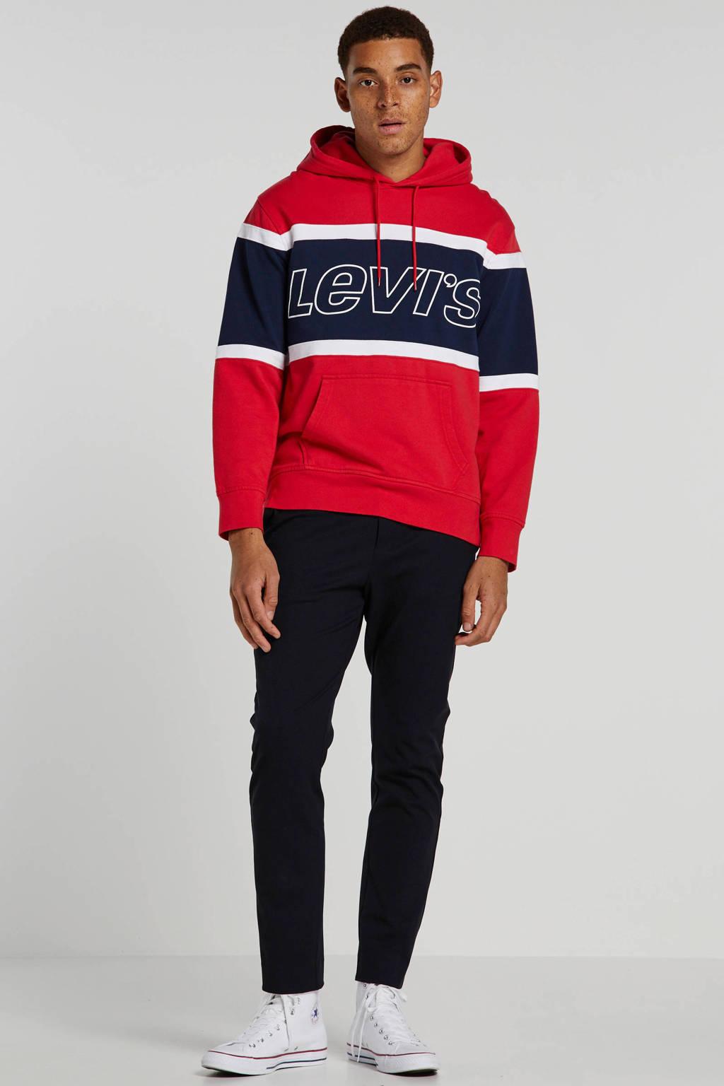 Levi's hoodie rood, Rood