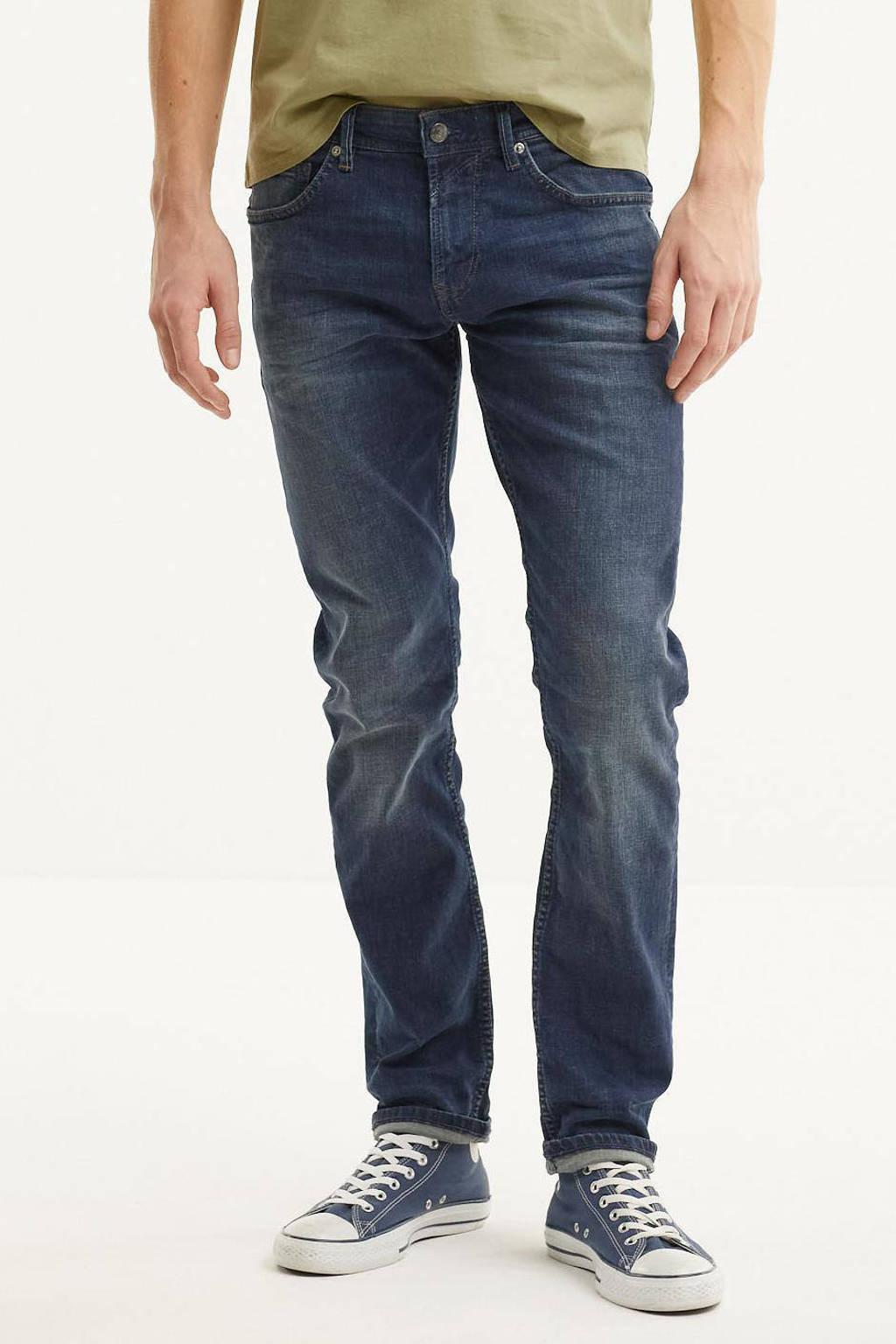Tom Tailor slim fit jeans Piers dark stone wash denim, 10282 dark stone wash denim