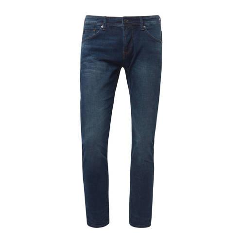Tom Tailor slim fit jeans Piers dark stone wash de