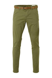 Tom Tailor slim fit chino groen, Groen