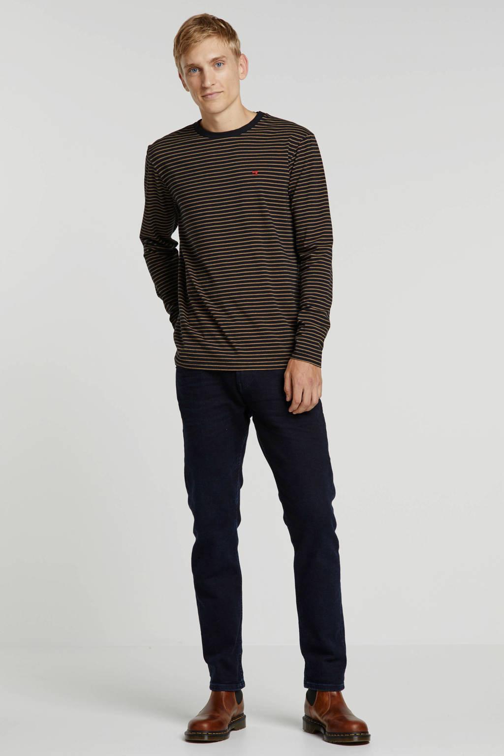 Tom Tailor slim fit jeans Piers blue black denim, 10170 blue black denim