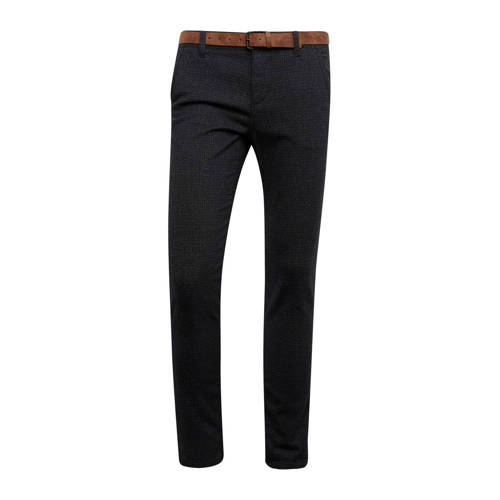 Tom Tailor gem??leerde straight fit chino zwart