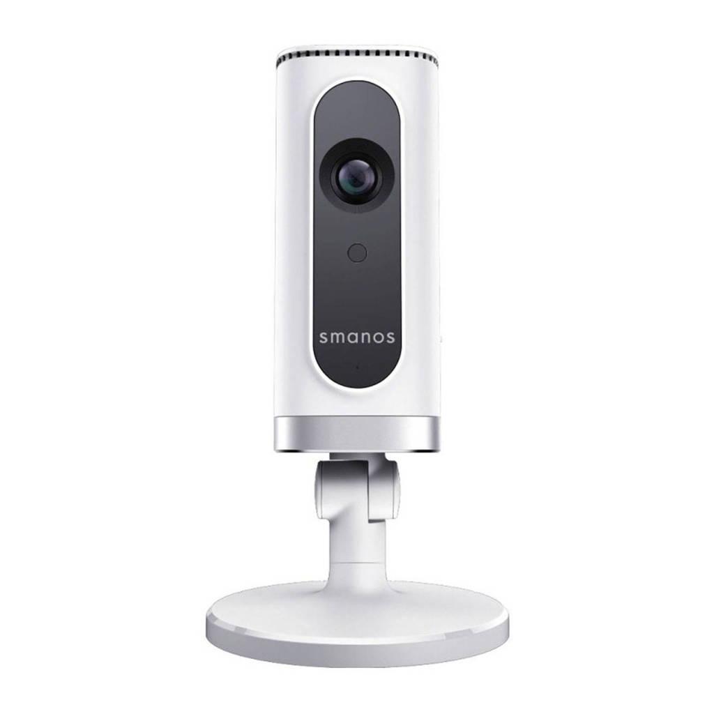 Smanos P70 IP camera, Wit, zwart