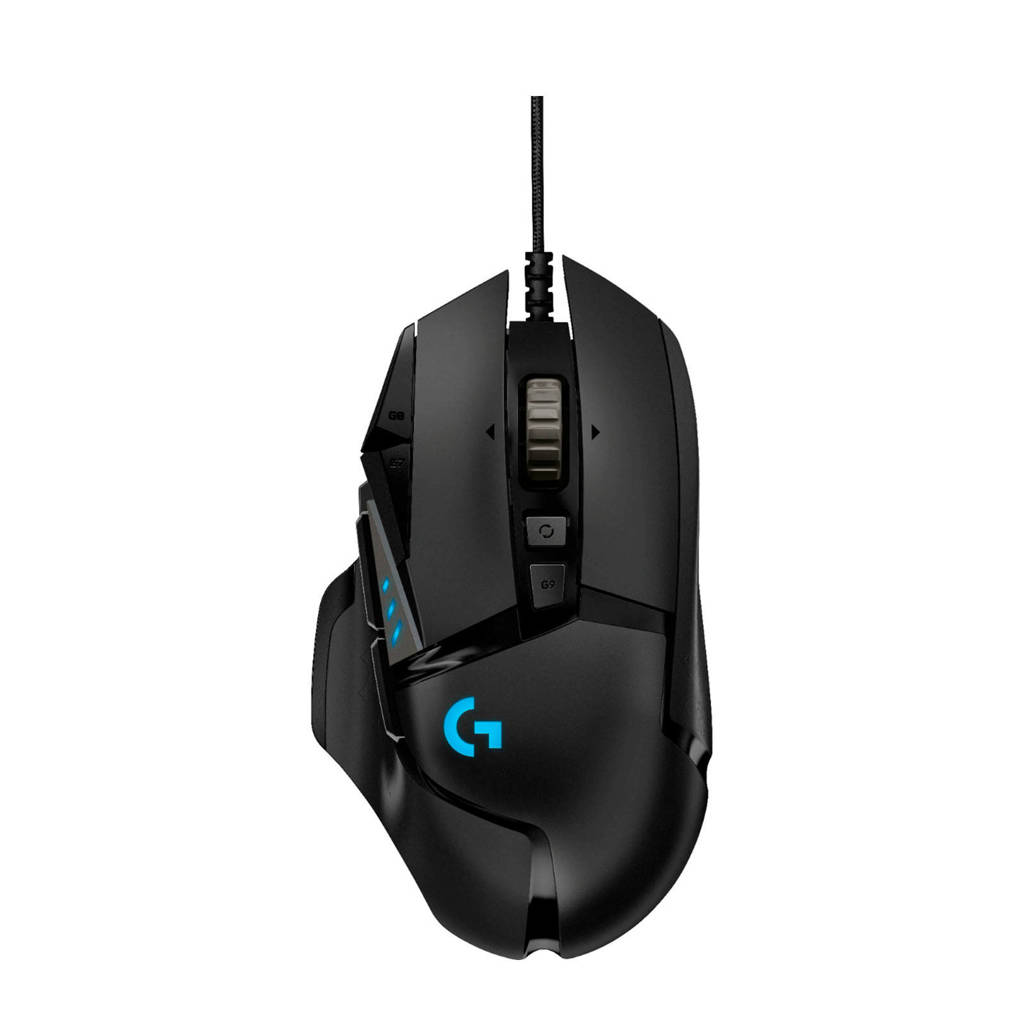 Logitech  G502 HERO High Performance gaming muis, Zwart