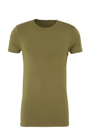 bamboe T-shirt groen