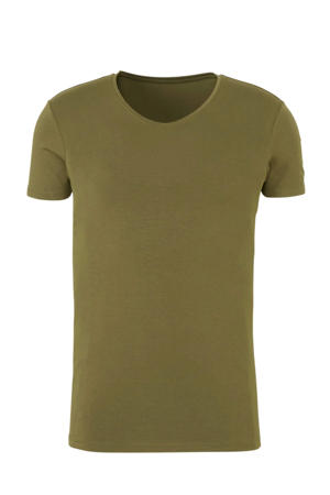 Men Bamboo T-shirt groen