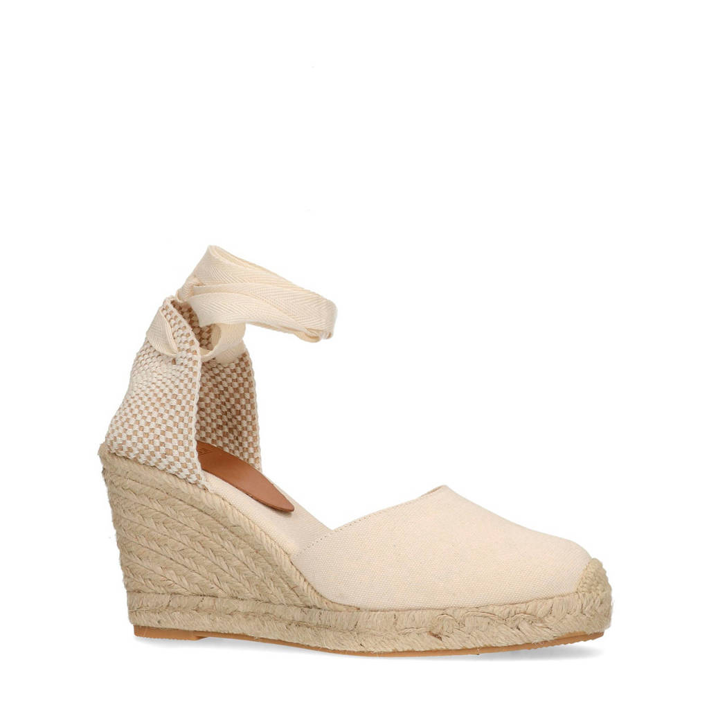 Manfield   espadrilles off white, Off white/Crème