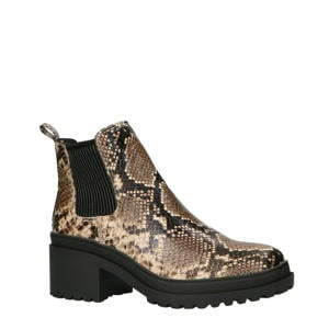 1807074 chelsea boots slangenprint