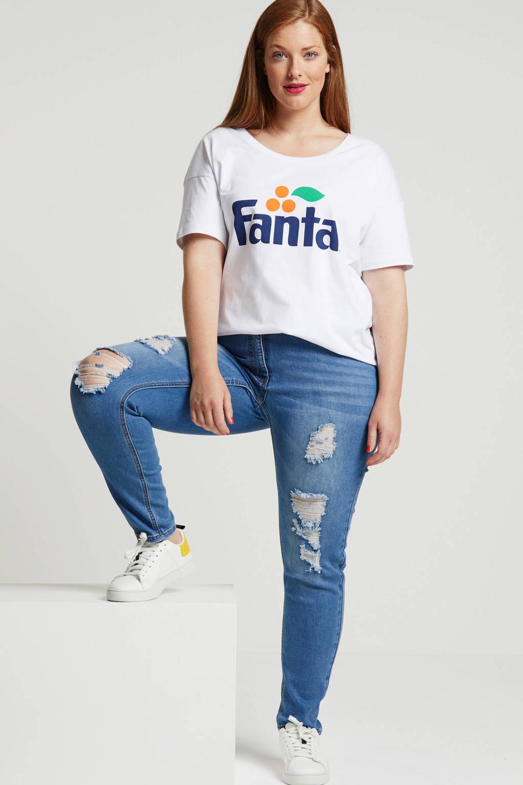 Studio Untold slim fit jeans, Blauw
